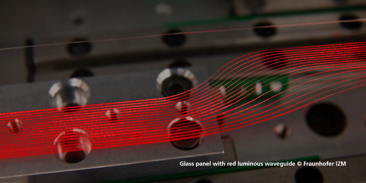 Glass_panel_with_red_luminous_waveguide_Fraunhofer_IZM